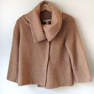 Banana Republic Sweater Coat Merino Cashmere Blend